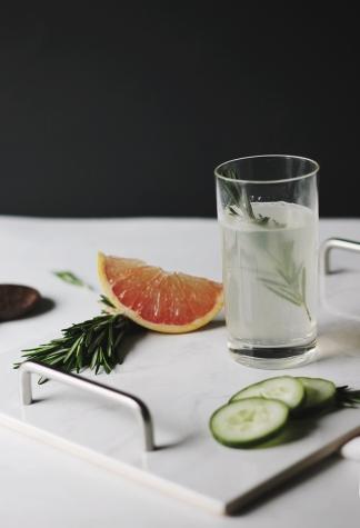http://themerrythought.com/recipes/grapefruit-rosemary-fizz/